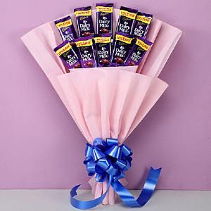 10 Cadbury Dairy Milk Bouquet