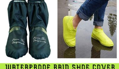 5 Waterproof rain shoes cover in India 2021 -Reviews   Best waterproof rain shoes cover