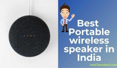 7 Best Portable Bluetooth speakers in India | Best mini wireless speakers