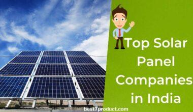 Top 10 Solar Panel Companies In India
