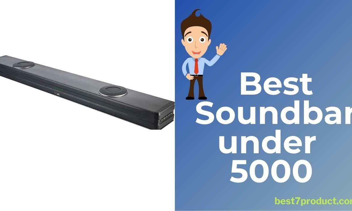 7 Best Soundbar in India under 5000 | Best soundbar for tv under 5000