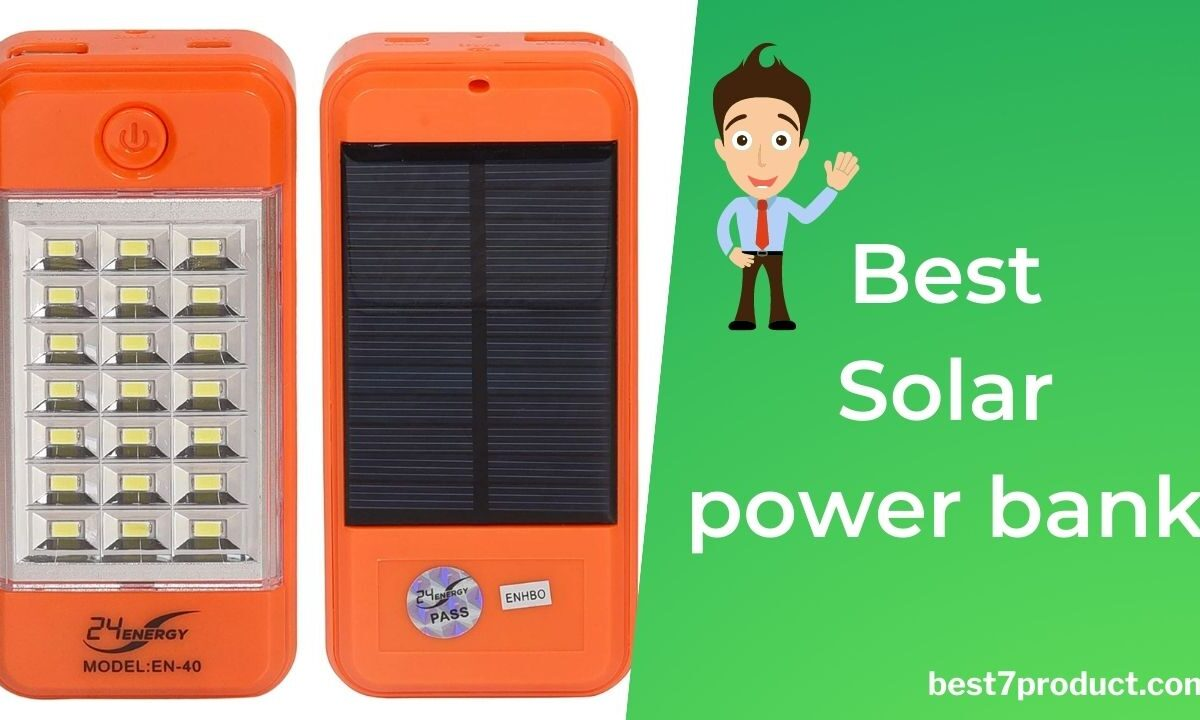 Best solar power bank in India 2021