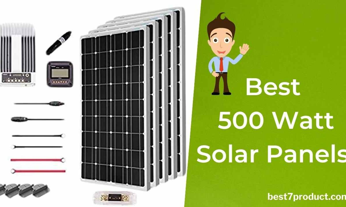 Best 500 Watt Solar Panel Price in India