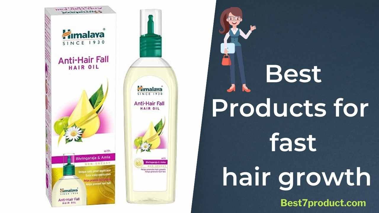 You are currently viewing 7 best products for fast hair growth in India